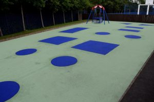 Large scale wetpour repair for The Meadows school in Oldbury
